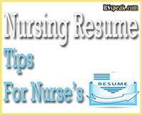 Nursing Resume Tips for Nurses