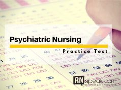 psychiatric-nursing practice test