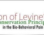 Levine's Four Conservation Principles in the Bio-Behavioral Pain Management