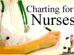 charting for nurses