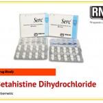 Serc (Betahistine Dihydrochloride) Drug Study