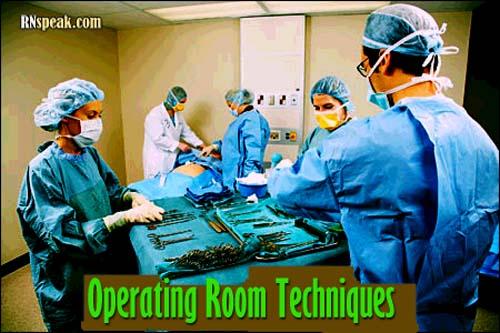 Nurse in OR