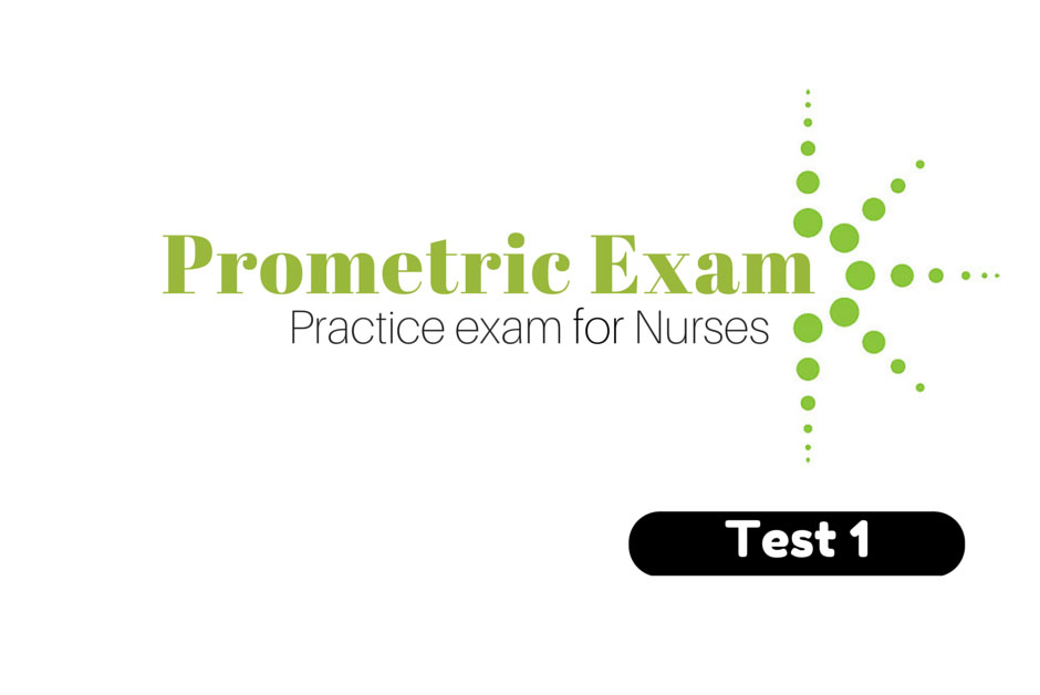 Sample prometric exam for nurse technician in saudi arabia.