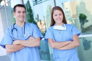 male vs female nurse