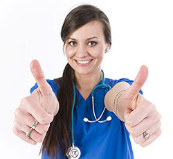 nurse-thumbs-up