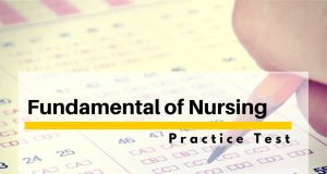 fundamental of nursing test