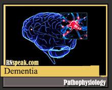 dementia-pathophysiology