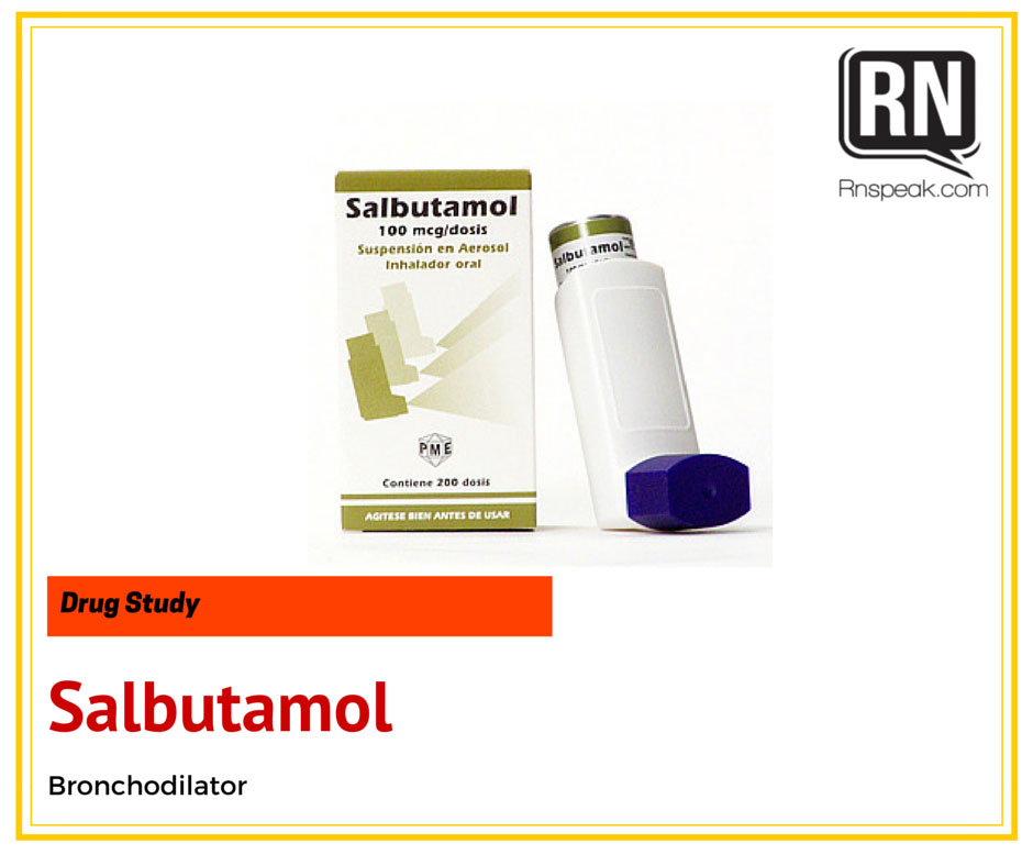 Albuterol or Salbutamol | Drugs | Pharmacology - pt.scribd.com