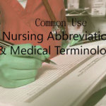 Common Use Nursing Abbreviations & Medical Terminologies List 2