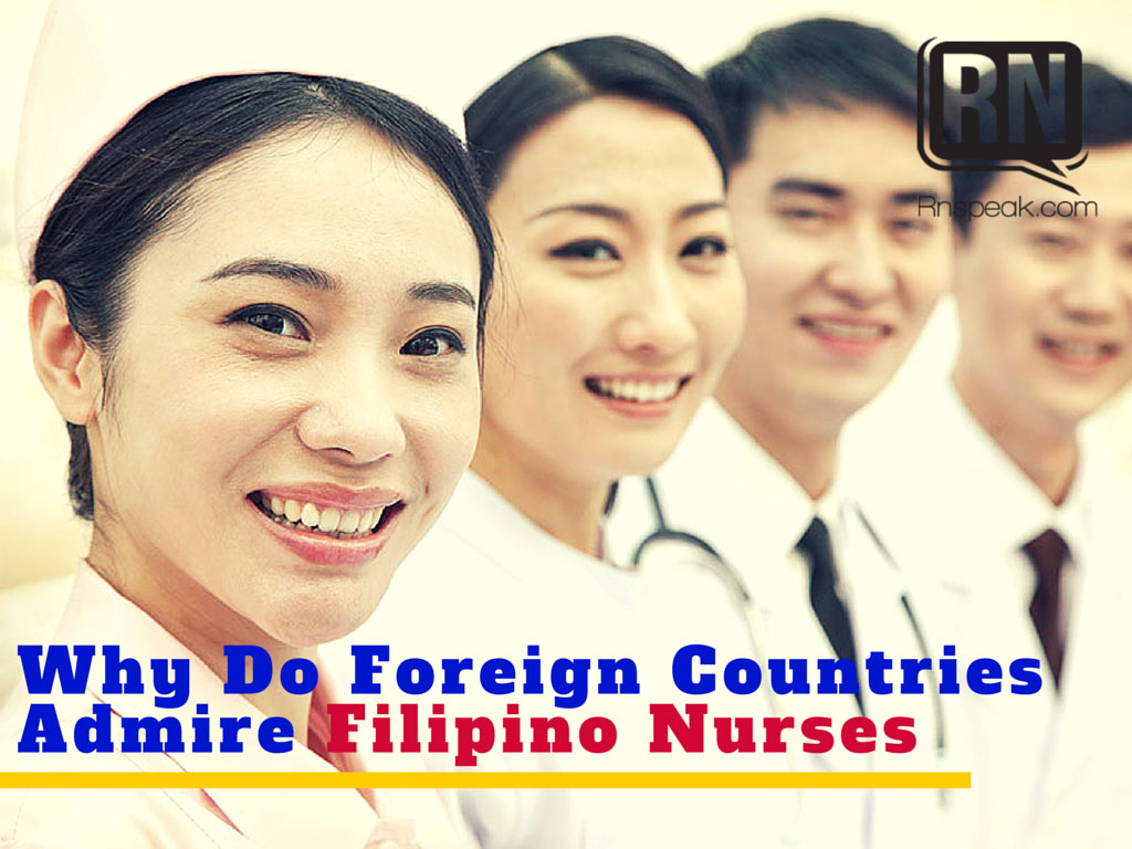 filipino nurses admired