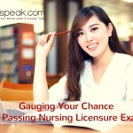 Gauging Your Chance of Passing Nursing Licensure Exam