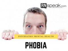 phobia nursing management