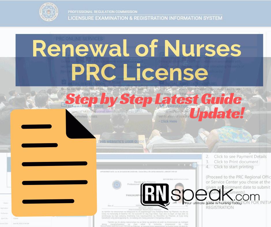 prc renewal nurse