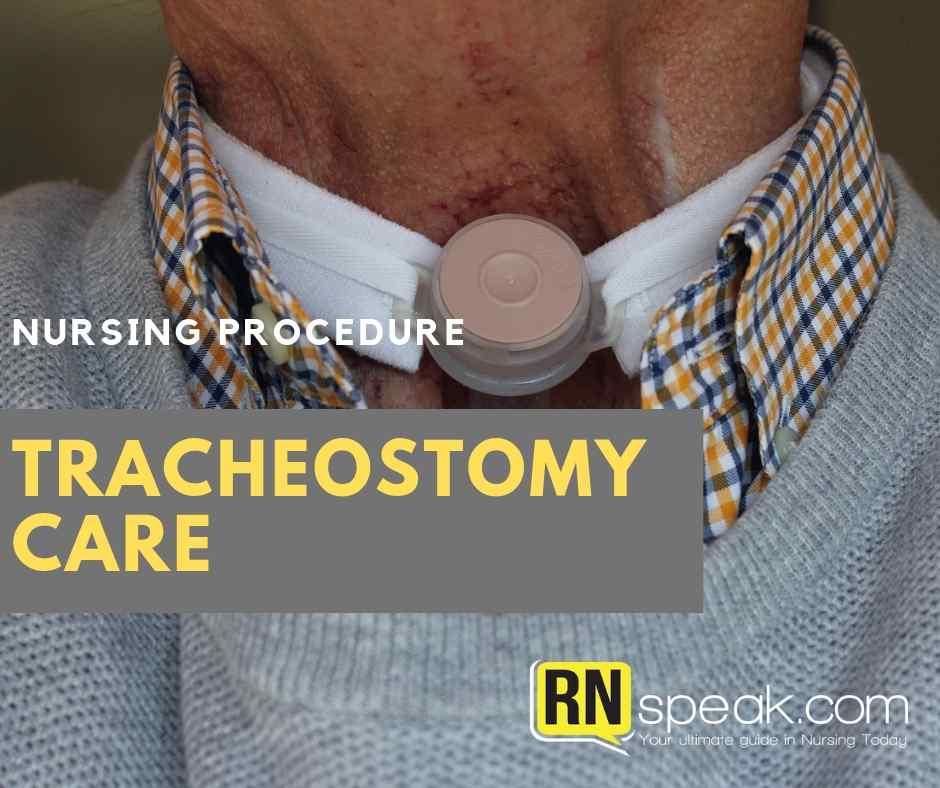 tracheostomy nursing procedure