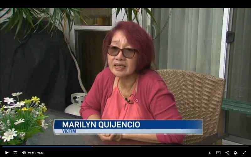 marily quinjencio filipino nurse discriminated