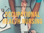 occupational health nursing guide