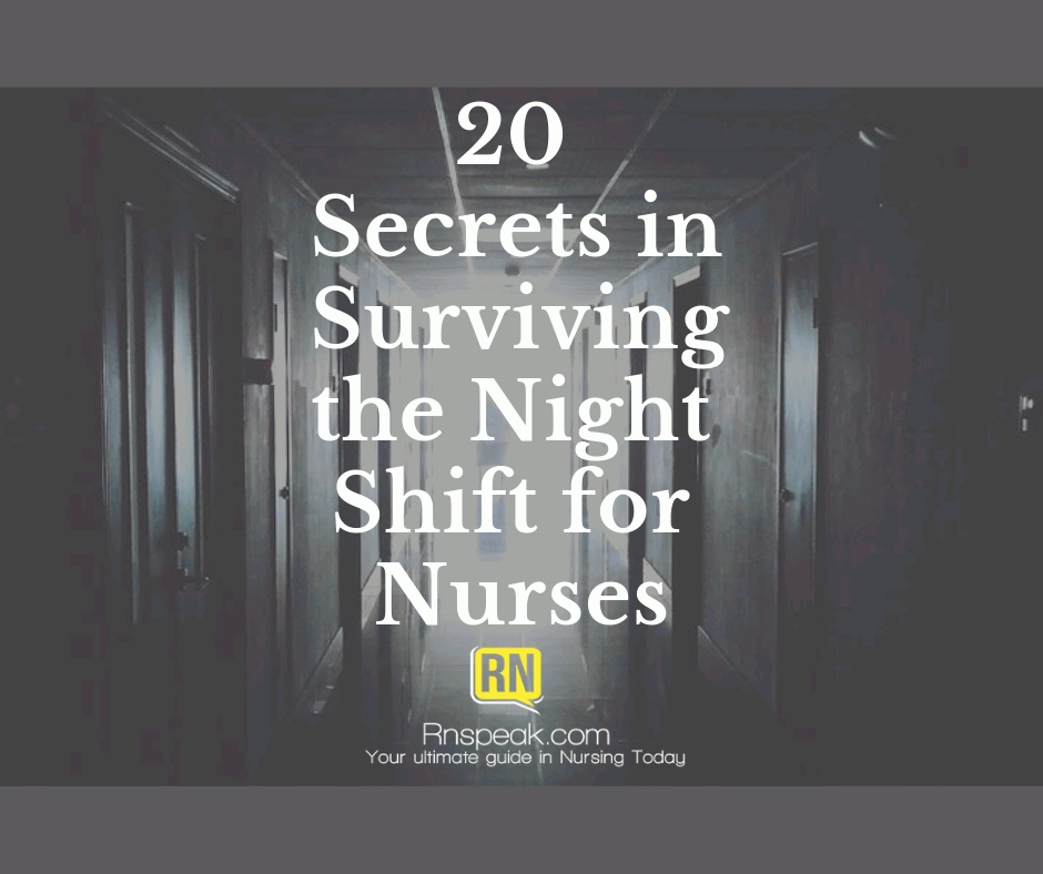 night shift nurses