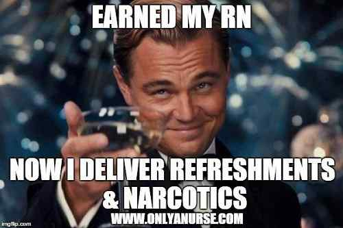 earned my rn memes