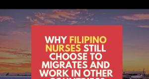 filipino nurses migrates