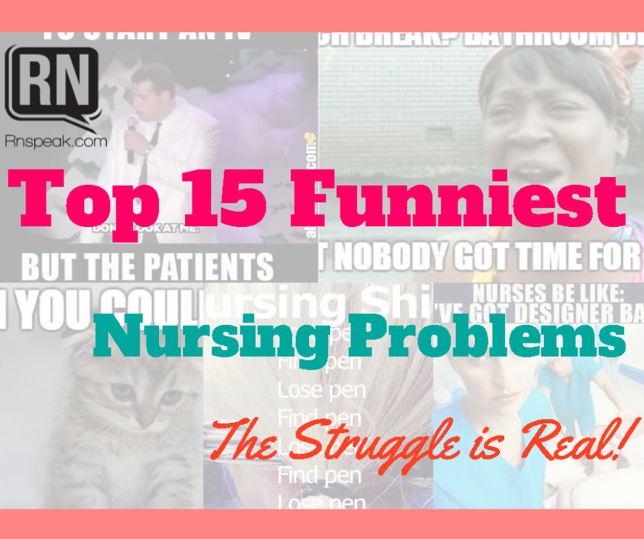 top nursing problems