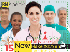 new year resolution for nurses