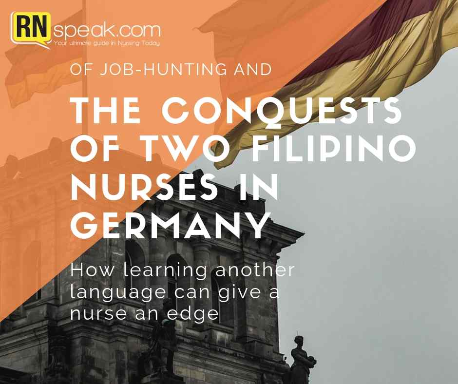 filipino nurse germany