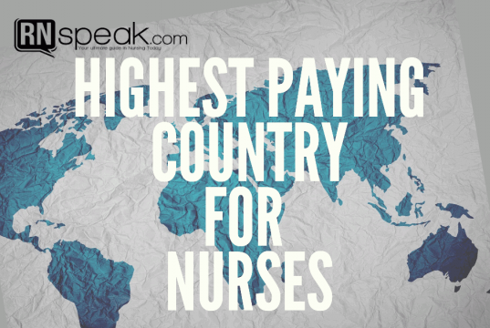 highest paying country for nurses