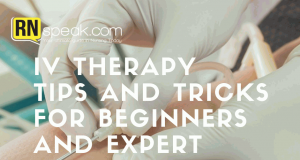 iv therapy tips and tricks