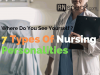 types of nursing personalities