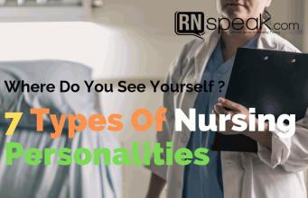 types of nursing personalities