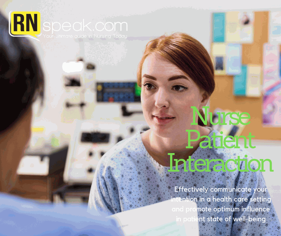 nurse patient interaction