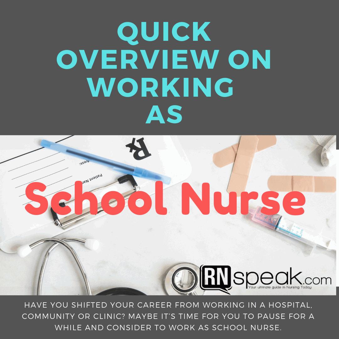 school nurse abroad