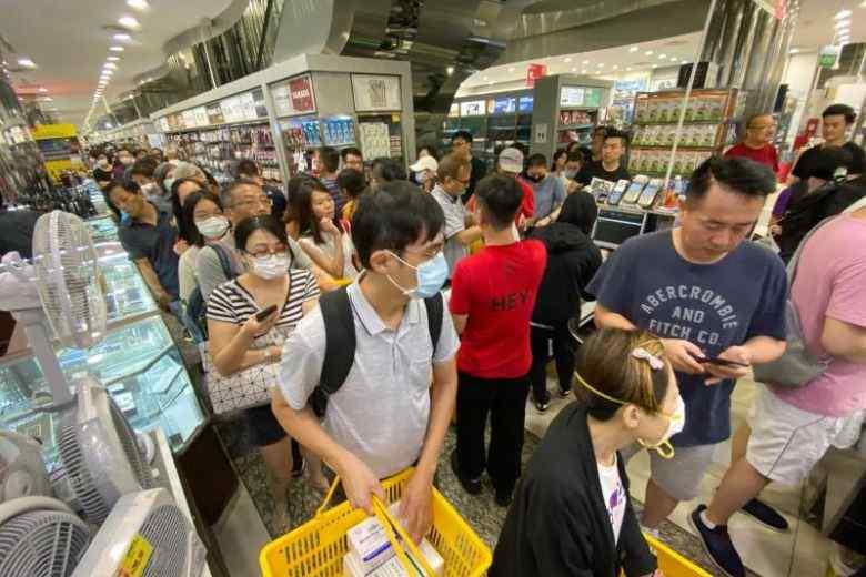 facemask panic buying