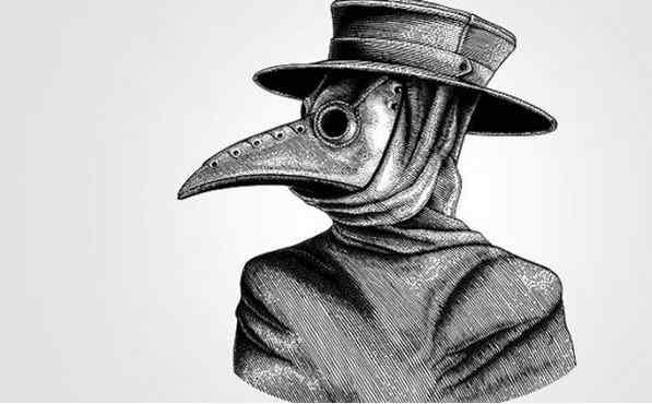 facemask black death