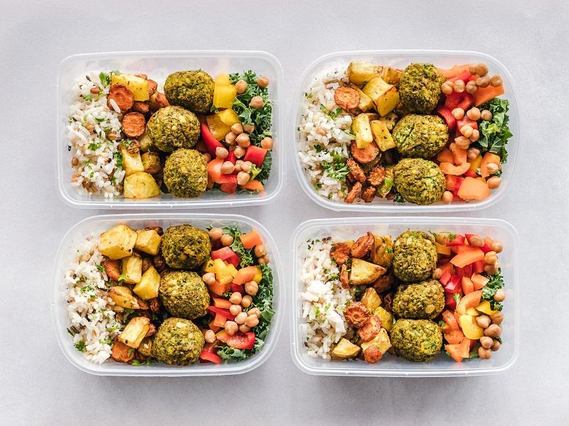 meal prep health food