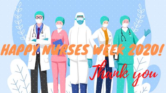 nurses week 2020 discount freebies gift